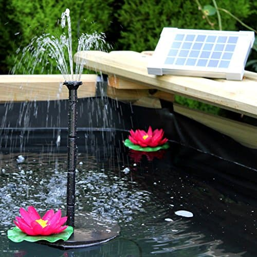 solar springbrunnen teichpumpe 2w solarbrunnen pumpe f r. Black Bedroom Furniture Sets. Home Design Ideas