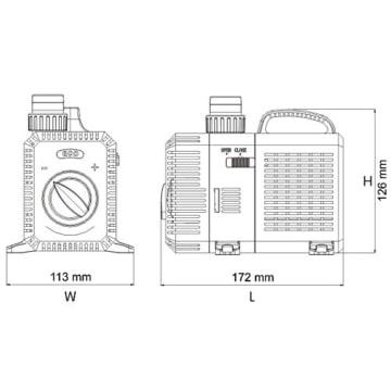 SunSun CTP-4800 SuperECO Teichpumpe Filterpumpe 4500l/h 30W -