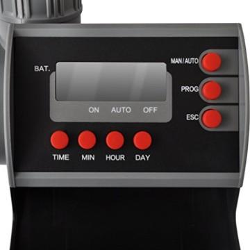 vidaXL Bewässerungscomputer Zeitschaltuhr Bewässerungsuhr Bewässerung Digitalanzeige -