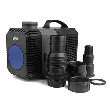 YAOBLUESEA 12000l/h 100W ECO Teichpumpe Filterpumpe Wasserpumpe Bachlaufpumpe EAS0019 -