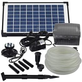 solar teichpumpe mit akku und led nkasp2 pumpen. Black Bedroom Furniture Sets. Home Design Ideas
