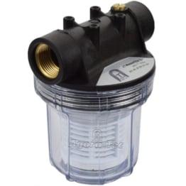 Agora-Tec® AT-Wasserfilter 1L, mit Max. Betriebsdruck: 4 bar, Max. Durchflussmenge: 3000 l/h, Maschenweiter Filtersieb: 0,2 mm, Anschlüsse: 1 Zoll (30,3 mm) IG Messingbuchsen - 1