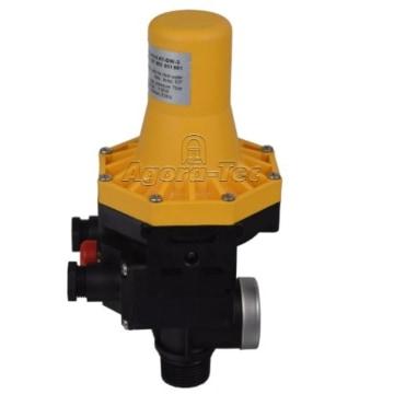 Agora-Tec Pumpen Druckschalter AT-DW-3 ohne Kabel zur Pumpensteuerung für Kreisel-, Tauch- Tiefbrunnenpumpen mit Betriebsdruck von 7 bar, AT 003 001 001 - 6