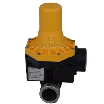Agora-Tec Pumpen Druckschalter AT-DW-3 ohne Kabel zur Pumpensteuerung für Kreisel-, Tauch- Tiefbrunnenpumpen mit Betriebsdruck von 7 bar, AT 003 001 001 - 8