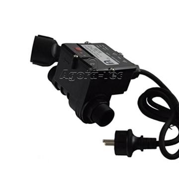 Agora-Tec Pumpen Druckschalter AT-DWv-10 verkabelt zur Pumpensteuerung für Kreisel-, Tauch- Tiefbrunnenpumpen mit Betriebsdruck von 10 bar, AT 003 001 006 - 5