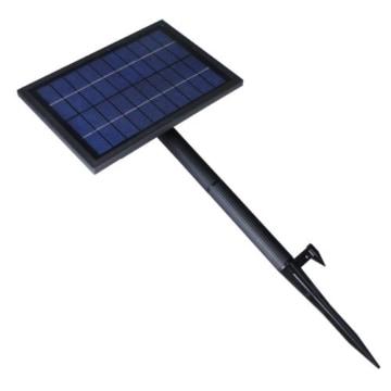anself solar teichpumpe solar brunnen wa erpumpe mit 6 led. Black Bedroom Furniture Sets. Home Design Ideas