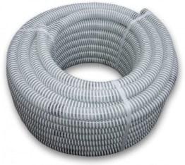 Bradas SAF32 Saugschlauch / Druckschlauch, Ali-Flex, Länge: 25 m, 7 Bar, Durchmesser 32 mm, weiß, 40 x 40 x 20 cm - 1