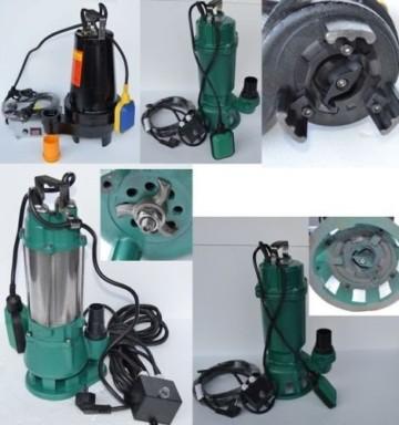 Fäkalienpumpe Schmutzwasserpumpe mit Schneidwerk IBO 1500Watt Spannung: 230V/50Hz Fördermenge: 7800l/h=130 l/min + Überspannungsschutz. - 2
