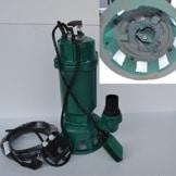 Fäkalienpumpe Schmutzwasserpumpe mit Schneidwerk IBO 1500Watt Spannung: 230V/50Hz Fördermenge: 7800l/h=130 l/min + Überspannungsschutz. - 1