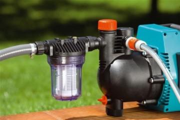 Garden 1730-20 Vorfilter für Pumpe, Filtereinsatz ist leicht zu entnehmen und einfach auszuwaschen, besonders zu empfehlen beim Fördern von sandhaltigem Wasser (Wasserdurchfluss bis 6.000 l/h) - 2
