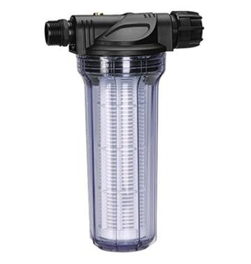 Garden 1730-20 Vorfilter für Pumpe, Filtereinsatz ist leicht zu entnehmen und einfach auszuwaschen, besonders zu empfehlen beim Fördern von sandhaltigem Wasser (Wasserdurchfluss bis 6.000 l/h) - 1