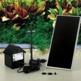 Poweraccu Solar-Springbrunnenpumpe mit Beleuchtung und Memory-Funktion !!! - 1