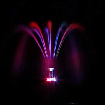 Solar Pumpe Springbrunnen NKASP2 Solarpumpe mit Akku und LED Teichpumpe - 6