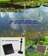 Solar-Springbrunnenpumpe mit Accu und Beleuchtung !!! - 1