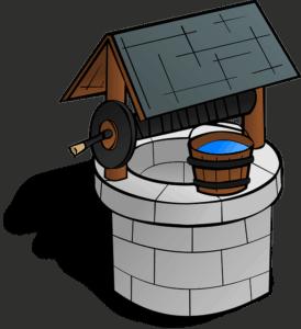 Brunnen für Schwengelpumpe