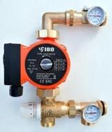 Festwertregelset für Fußbodenheizung mit Pumpe IBO Pumpengruppe TOP PREIS - 1