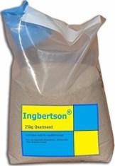 Ingbertson® 25kg Quarzsand 0,4-0,8mm Sand für Sandfilteranlage - 1