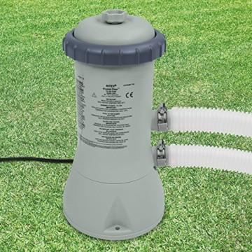 Intex 28638 Kartuschenfilteranlage, Typ ECO 3800, grau, 3,785 l/h / 99 W / 230 V - 2