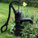 Schwengelpumpe Antik Vintage Gartenpumpe Handschwengelpumpe Handpumpe Nostalgie für den Garten mit ca. 7-8 meter Saughöhe Baumarktplus - 1