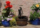 UBBINK Komplett-Set: Gartenbrunnen Newcastle - 1
