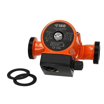 Umwälzpumpe IBO OHI 32-60/180 Heizungspumpe Pumpe Warmwasser Heizung Nassläufer - 2