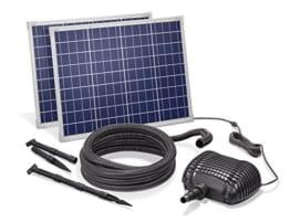 Solar Bachlaufset 100W Solarmodul 3400 l/h Förderleistung 3m Förderhöhe inkl. 5m Schlauch 32mm Bachlaufpumpe esotec pro Komplettset 101968 - 1