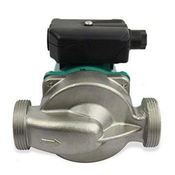 BACOENG Umwälzpumpe Heizungspumpe RS 25/6-130 Edelstahl Zirkulationspumpe für Zentralheizung 220V/ 50 Hz - 5