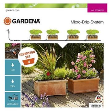 Gardena 13006-20 MDS Erweiterungsset Pflanztröge, mehrfarbig - 1
