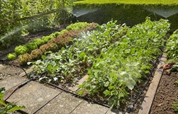 GARDENA 13015-20 Micro-Drip Start Set Pflanzflächen, ideales Einsteiger-Set zur Bewässerung von bis zu 40m² Blumenbeet/Nutzgartenbeet, enthält zahlreiche Systemteile zum Aufbau einer Bewässerungsanlage für Ihre Pflanzen - 2