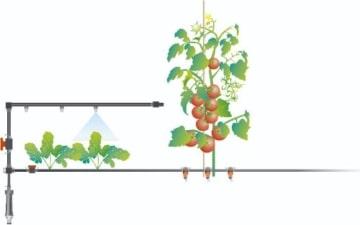 Gardena 1391-20 Micro-Drip-System Regulierbarer Endtropfer Inhalt: 10 Stück - 5