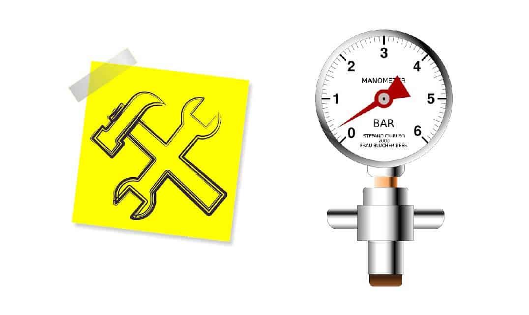 Hauswasserwerk Druck einstellen