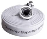 Quarzflex Industrie Bauschlauch C 52 mm 30 m Rolle incl. Gummischutz - 1
