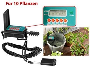 Royal Gardineer Bewässerungssystem: Automatische Urlaubs-Bewässerungsanlage für 10 Zimmerpflanzen (Blumenbewässerung) - 2