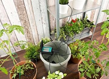 Royal Gardineer Bewässerungssystem: Automatische Urlaubs-Bewässerungsanlage für 10 Zimmerpflanzen (Blumenbewässerung) - 4