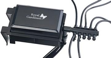 Royal Gardineer Bewässerungssystem: Automatische Urlaubs-Bewässerungsanlage für 10 Zimmerpflanzen (Blumenbewässerung) - 7